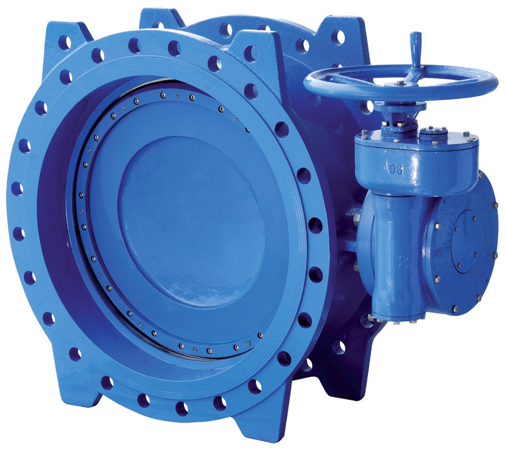 BUTTERFLY VALVE DOUBLE ECCENTRIC TYPE